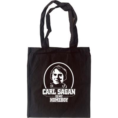 Carl Sagan is my Homeboy Tote Bag