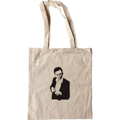 Johnny Cash Cigarette Design Tote Bag