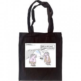 Caveman Door Tote Bag