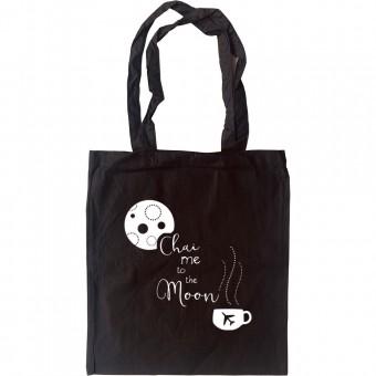 Chai Me To The Moon Tote Bag