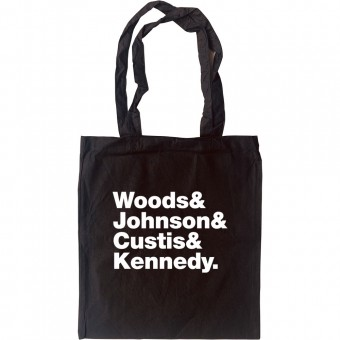 Chairmen Of The Board Line-Up Tote Bag