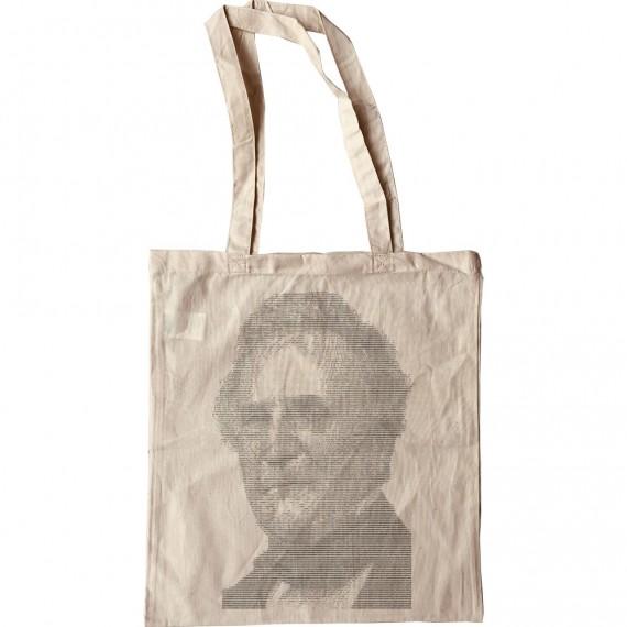 Charles Babbage ASCII Art Tote Bag