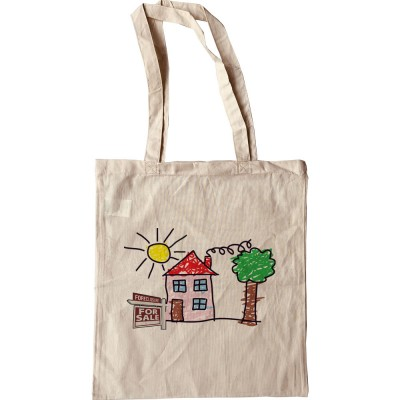 Child's House Foreclosure Tote Bag