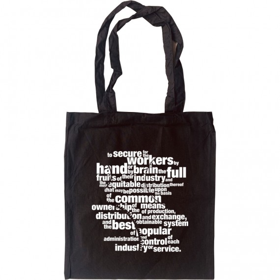 Clause Four Tote Bag