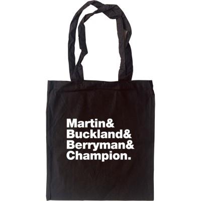 Coldplay Line-Up Tote Bag