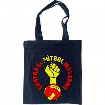 Contra El Futbol Moderno Tote Bag