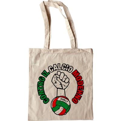 Contro Il Calcio Moderno Tote Bag