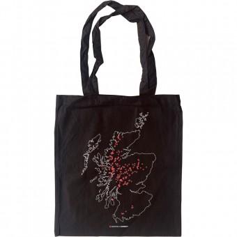 Corbetts Map Tote Bag