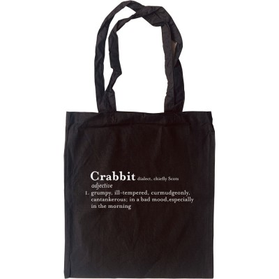 Crabbit Definition Tote Bag