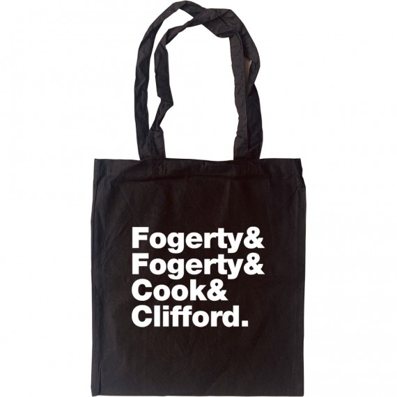 Creedence Clearwater Revival Line-Up Tote Bag