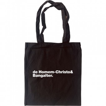 Daft Punk Line-Up Tote Bag