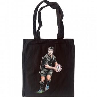 Dan Carter: New Zealand Rugby Legend Tote Bag