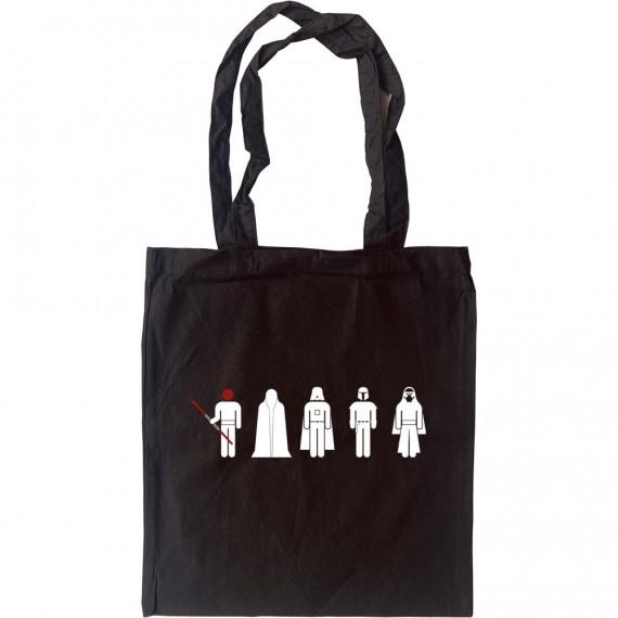 Dark Side Figures Tote Bag