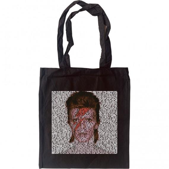 David Bowie Songs Tote Bag