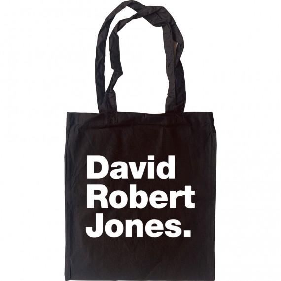 David Robert Jones Tote Bag