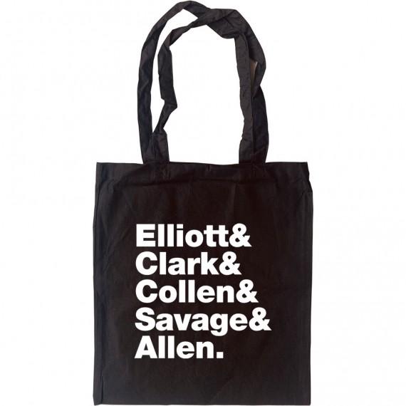 Def Leppard Line-Up Tote Bag
