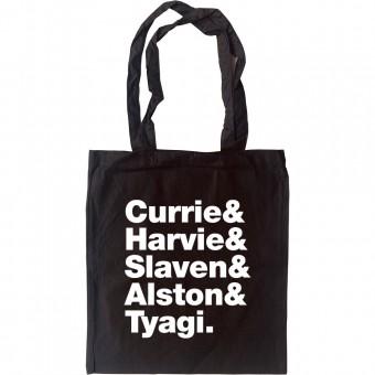 Del Amitri Line-Up Tote Bag