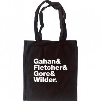 Depeche Mode Line-Up Tote Bag