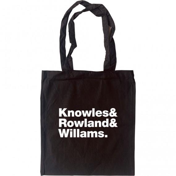 Destiny's Child Line-Up Tote Bag
