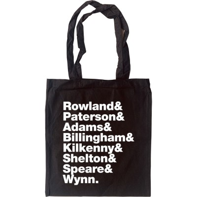 Dexy's Midnight Runners Line-Up Tote Bag