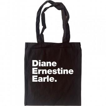 Diane Ernestine Earle Tote Bag