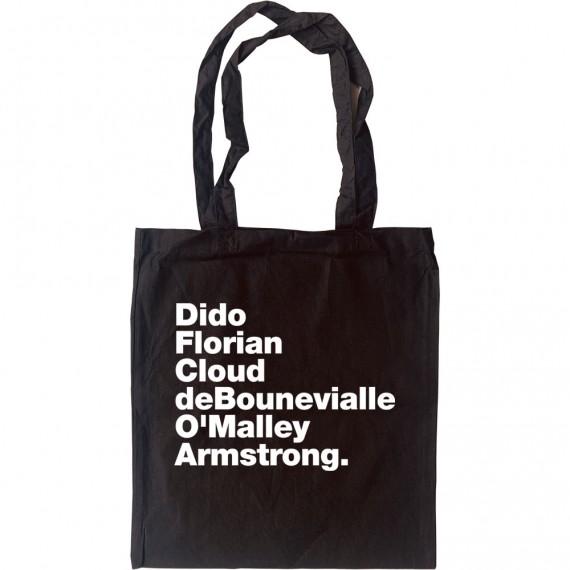 Dido Florian Cloud De Bounevialle O'Malley Armstrong Tote Bag