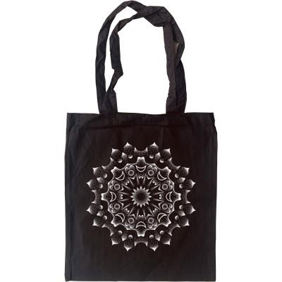 Dotwork Mandala #1 Tote Bag
