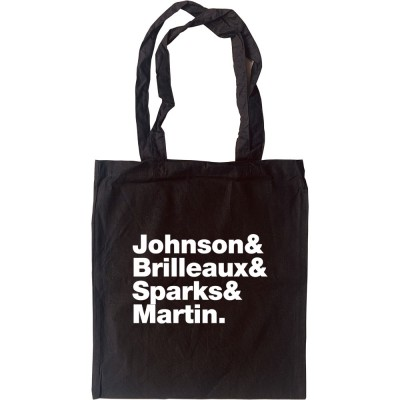 Dr Feelgood Line-Up Tote Bag