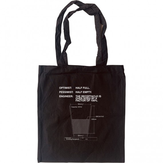 Drinking Receptacle Tote Bag
