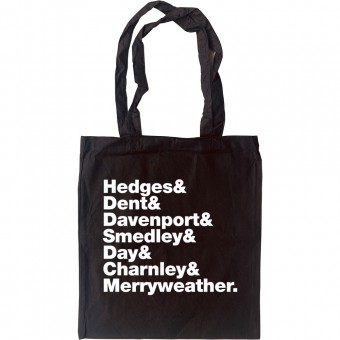 Drop The Dead Donkey Line-Up Tote Bag