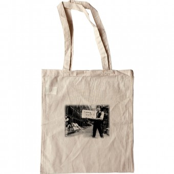 """Bob Dylan """"Look Out"""" Tote Bag"""