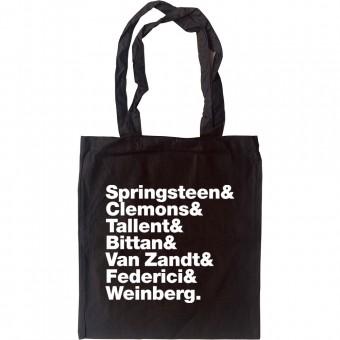 E Street Band Line-Up Tote Bag