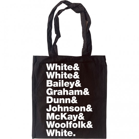 Earth, Wind and Fire Line-Up Tote Bag