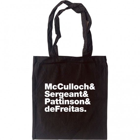 Echo and the Bunnymen Line-Up Tote Bag