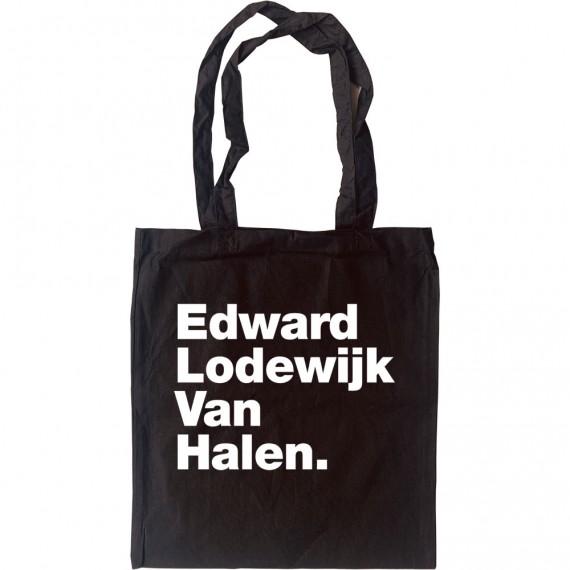Edward Lodewijk Van Halen Tote Bag