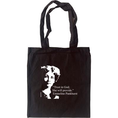 Emmeline Pankhurst Tote Bag