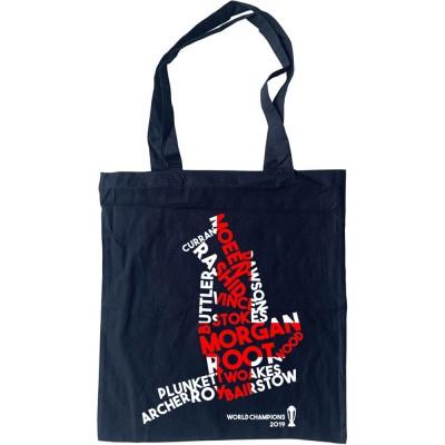 England: 2019 Cricket World Champions Tote Bag