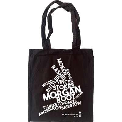 England and Wales: 2019 Cricket World Champions Tote Bag