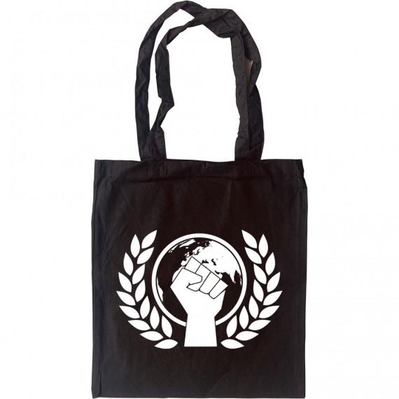 Environmentalist Fist Tote Bag