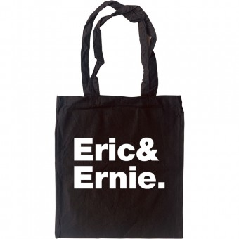 Eric and Ernie Line-Up Tote Bag