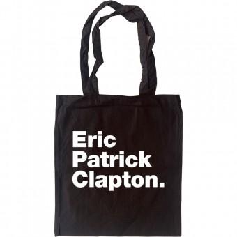 Eric Patrick Clapton Tote Bag