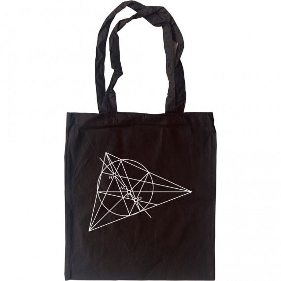 Euler Line Tote Bag