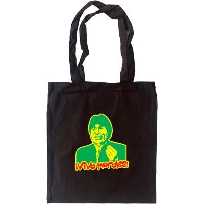 """Evo Morales """"Viva Morales"""" Tote Bag"""