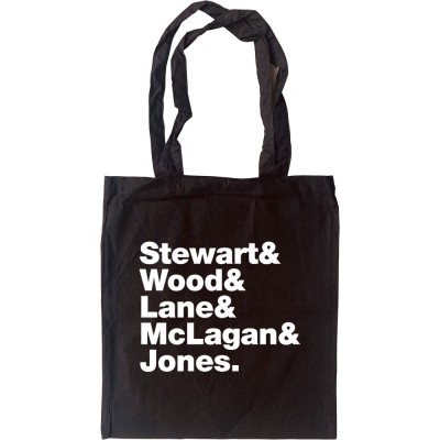 Faces (aka The Faces) Line-Up Tote Bag