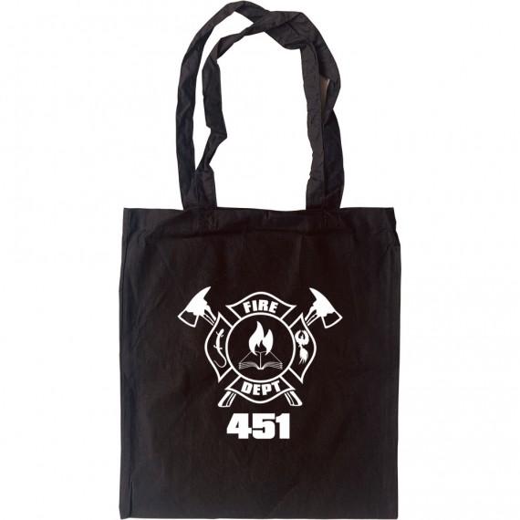Fahrenheit 451 Tote Bag