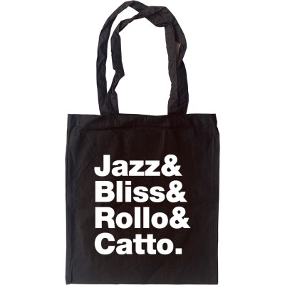 Faithless Line-Up Tote Bag