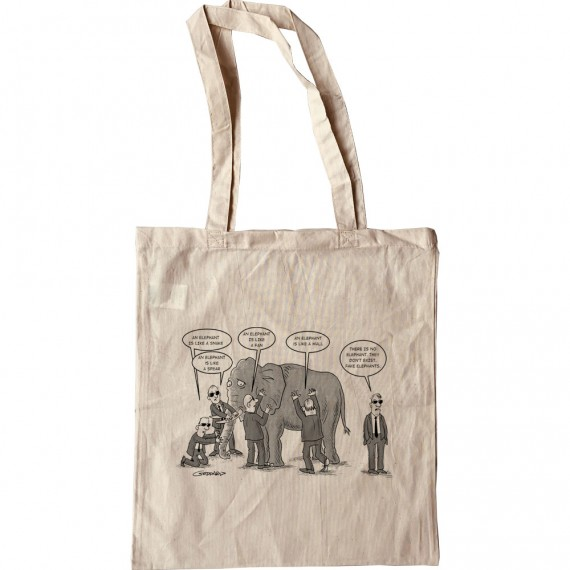 Fake Elephant Tote Bag