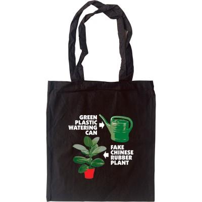 Fake Plastic Trees Tote Bag