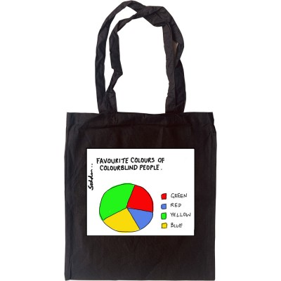 Favourite Colours Of Colourblind People Tote Bag