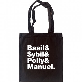 Fawlty Towers Line-Up Tote Bag
